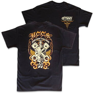 MCCS MOON Custom Cycle Shop Tシャツ