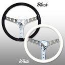 楽天MOONEYESMOONEYES (ムーンアイズ) Original Classic Style Vinyl Grip Steering Wheel 34cm 13.5