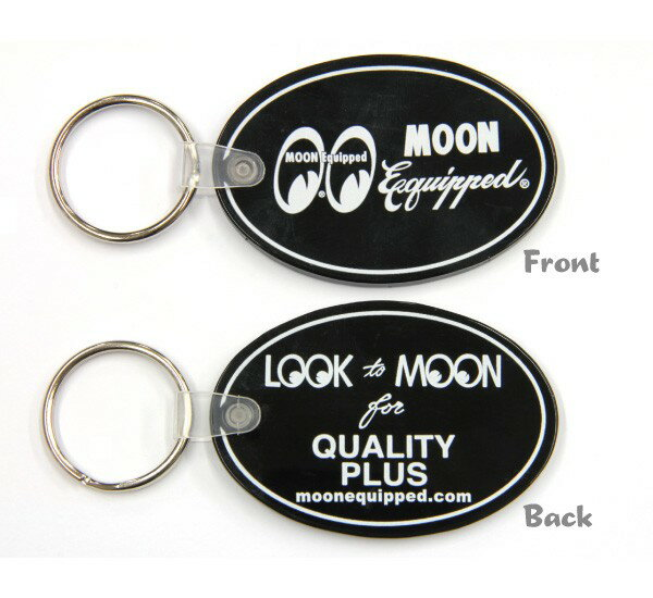 MOON Equipped (ムーン イクイップド) Rubber Key Ring
