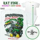 """Rat Fink (ラット フィンク) モンスター Tシャツ """"FORD Bad Boys"""""""