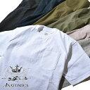 【20%OFFクーポン対象】アナトミカ ポケT ポケTEE 半袖 Tシャツ 無地 カットソー ANATOMICA メンズ レディース MADE IN USA アメリカ製
