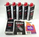 【送料無料 お買い得セット】 Zippoオイルキット(133mlオイル6本+石+芯)【02P03Dec16】