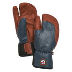 ヘストラ(HESTRA)スリーフィンガー フル レザー ショート(3-Finger Full Leather Short)カラー:Navy/Brown