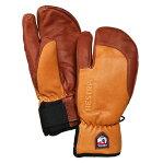 ヘストラ(HESTRA)スリーフィンガー フル レザー ショート(3-Finger Full Leather Short)カラー:Cork/Brown