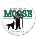 ムース(MOOSE)オリジナルステッカー(大)