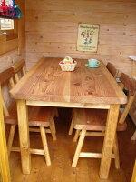ダイニングテーブル1点&椅子4点の5セットです。