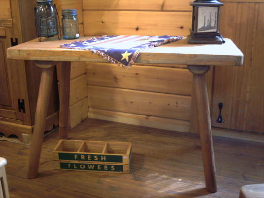 一枚板テーブル 無垢