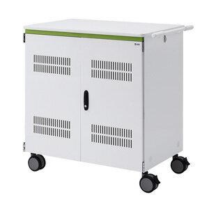 サンワサプライ タブレット収納保管庫(前扉仕様) CAI-CAB26WN