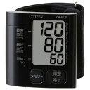 シチズン 手首式血圧計 CH657F-BK(ブラック)