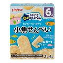 元気アップカルシウム 小魚せんべい (2枚×6袋入) (ベビーフード6ヶ月〜)