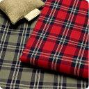 【 生地 布 】【 コットン 】【 チェック 】【 オリジナル 】オックスフォード織りのタータンチェック先染め 2014ver