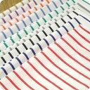 ■■ これは生地サンプルです ■■オリジナル!全9色細いストライプ