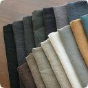 ■■ これは生地サンプルです ■■綾織アンティーク風ラミーリネン1/25番手