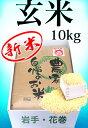 令和元年産 新米 ひとめぼれ10kg 玄米 送料無料  岩手県 農家直送 生産直売 ギフト