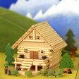 05P29Aug16 木工工作キット ログハウス貯金箱【あす楽】メルヘンログ 山荘ものがたり A81