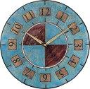 ザッカレラ掛時計 (クオーツ) (陶器:イタリア製) ZC005-005 [送料無料]