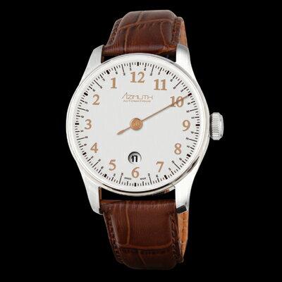 【アジムート腕時計】AZIMUTH Round-1 Back In Time R1-BIT-SL アジムートはシンガポールで設立された、スイス製の高級機械式腕時計