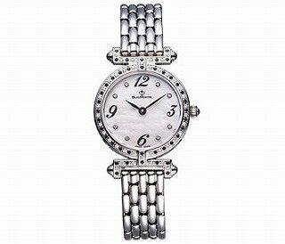 ビジュモントレ 女性用ダイアモンド 腕時計 (Bijou Montre) クォーツ スイス製 51010TM [送料無料] 本体外枠全面にダイヤモンドとスピネルをちりばめました・・・( ダイアモンド0.50ct、スピネル0.49ct )、