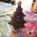 手造り陶器のLED回転オルゴール『クリスマスツリー2019』限定生産品