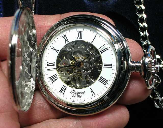 懐中時計の名門イギリス ラポート社の懐中時計 ハ...の商品画像
