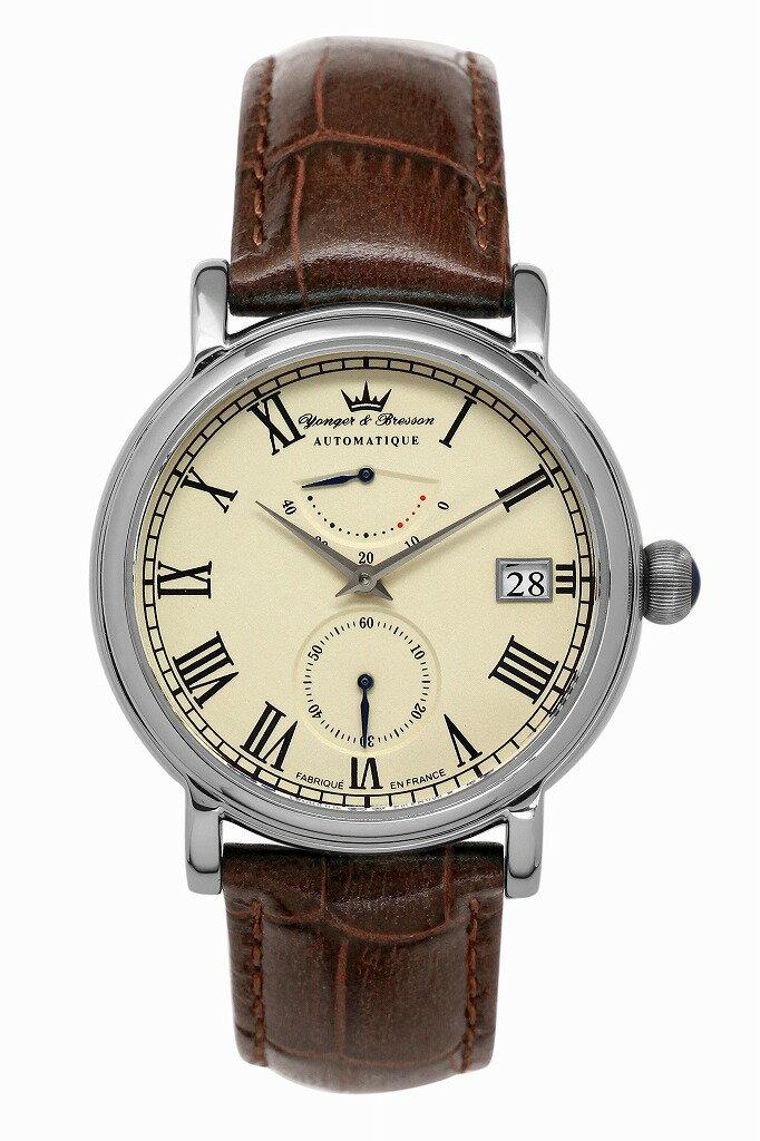 【ヨンガー&ブレッソン】フランス製機械式腕時計 Yonger & Bresson Chambord - YBH 8356-08 [送料無料] シャンボール:フランスにあるルネサンス式の有名な古城。