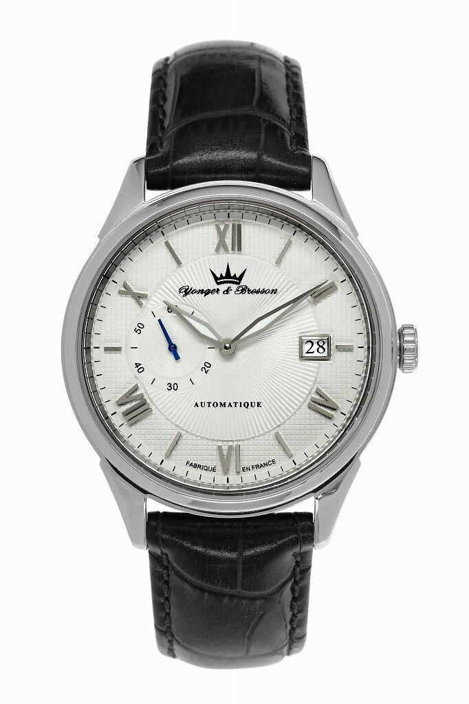 【ヨンガー&ブレッソン】フランス製機械式腕時計 Yonger & Bresson Boissac - YBH 8360-02 [送料無料] ボアサック:シャトー・ド・ボアサックという有名なボルドーワインがある。