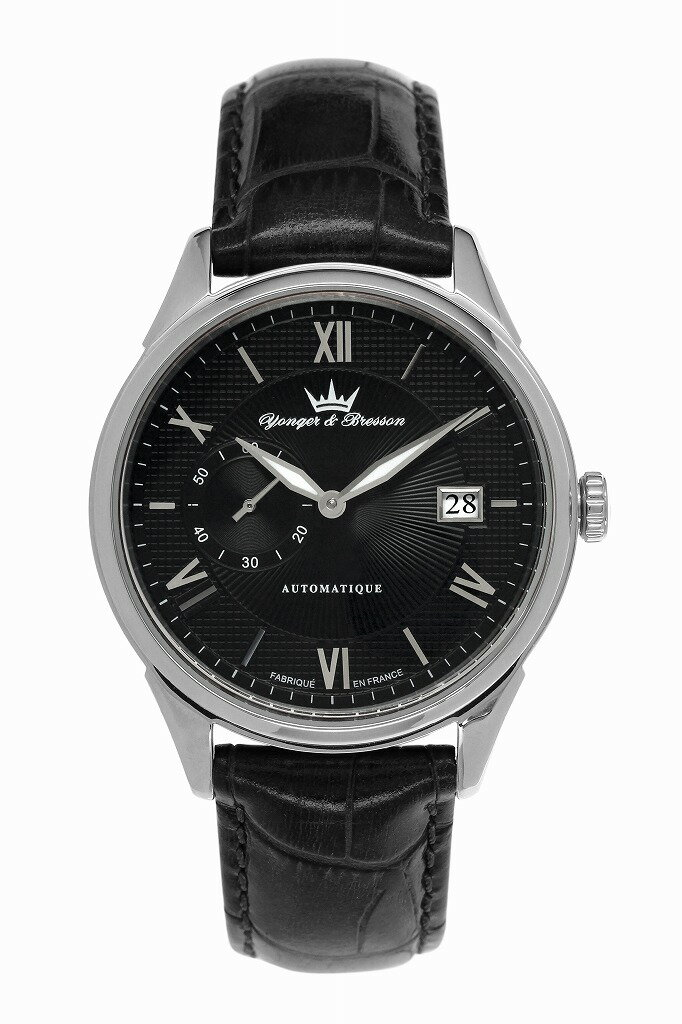 【ヨンガー&ブレッソン】フランス製機械式腕時計 Yonger & Bresson Boissac - YBH 8360-01 [送料無料] ボアサック:シャトー・ド・ボアサックという有名なボルドーワインがある。