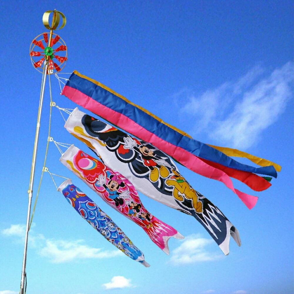 【キャラクターこいのぼり kng】ディズニー ミッキー鯉のぼり1.5mベランダセット【送料…...:morisa:10006047
