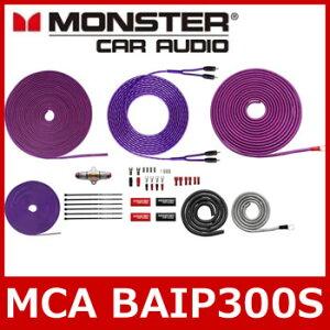MONSTERCABLE(モンスターケーブル)MCABAIP300S8ゲージパワーアンプ接続キット