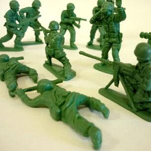フィギュア グリーンソルジャーセット ランダム アメリカ インテリア おもちゃ