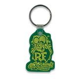 钥匙圈Rat Fink rattofinku 绿色 美国的��货/美国杂货/ame杂货[キーホルダー Rat Fink ラットフィンク グリーン アメリカン雑貨/アメリカ雑貨/アメ雑貨]