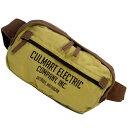 ウエストバッグ CULTURE MART カルチャーマート ベージュ/ブラウン 外側&内側にもポケット付き アメリカ雑貨/アメ雑貨/カバン/鞄/メンズ/レディース 【あす楽対応】