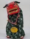踊る獅子舞M P-1600-MRグリーン、ゴールド、赤をお選びくださいお正月飾り日本のお土産品