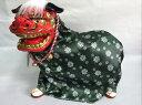 踊る獅子舞 P-1605-Mグリーン、ゴールド、をお選びくださいお正月飾り日本のお土産品