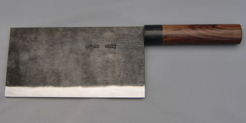 [Direct sales from Rakuten sole swordsmith, Moritaka] Razor sharp Chinese Cleaver 220mm ( Aogami Super Series ) One-time free re-sharpening service