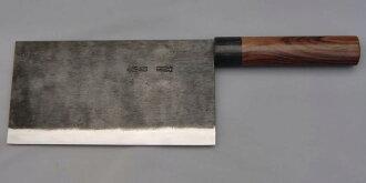 [Direct sales from Rakuten sole swordsmith, Moritaka] Razor sharp Chinese Cleaver 220mm ( Aogami Super Series ) One-time free re-sharpening service