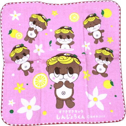 しんじょう君 ぷちたおる(ピンク)<日本製>...:moritokuzo:10000223