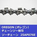 チェンソー替刃(チェーンソー刃) 25AP76E オレゴン ソーチェーン 25AP076E チェーンソー替刃