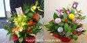【送料無料】moriyaのデザインお任せお正月フラワーアレンジメント♪新年を祝う迎春盛り花♪心を込めてアレンジします☆
