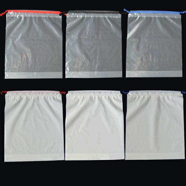 【ポリ袋】巾着袋Lサイズ(光沢あり)350×4...の紹介画像2