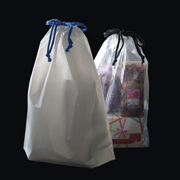 【ポリ袋】巾着袋Lサイズ(光沢あり)350×4...の紹介画像3