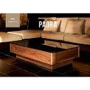 テーブル 【送料無料】 センターテーブル Paora ガラステーブル パオラ1200 ガラス リ
