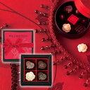 バラ&ハートが伝えるストレートな思い バレンタインチョコレート ミニョンクール5個(専用袋付)/モロゾフ《2/13(日)〜2/14(月)お届け不可》