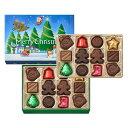 モロゾフ クリスマスプレーンチョコレート 24個入
