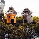 全2種 小さな家 ミニチュア ジオラマ 動物模型 苔テラリウム おもちゃ フィギュア
