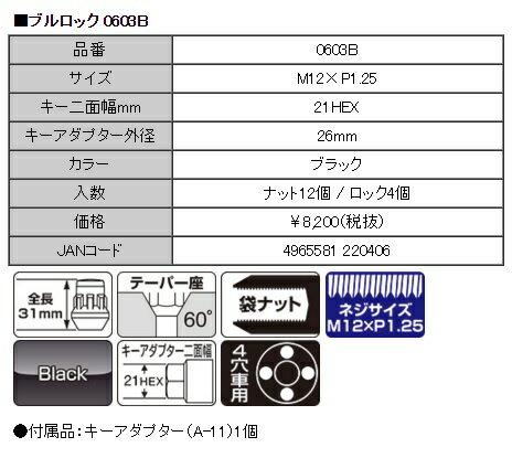KYO-EI 協永産業 Bull Lock&N...の紹介画像2