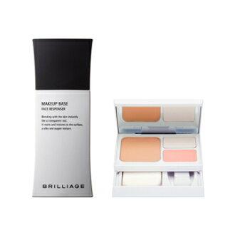 ブリリアージュ [BRILLIAGE] フェイスレスポンサー + トリッキーパクト UV2013 age model base makeup set