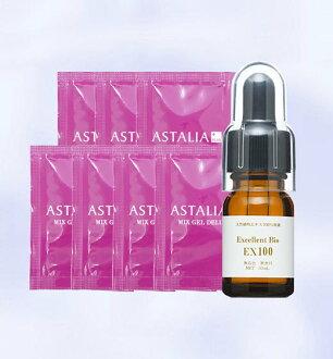 100 10 ml of seven bags of Ebisu[ebis]Asta rear plus mixture gel DX & EX100( excellent bio) undiluted solution trial set