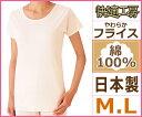 快適工房 丸首3分袖スリーマー Mサイズ Lサイズ 日本製 グンゼ GUNZE 通販 | レディー