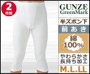 GreenMark 半ズボン下 前あき 2枚組 Mサイズ Lサイズ LLサイズ グンゼ GUNZE ステテコ すててこ 通販 グンゼ GUNZE | グンゼ G...